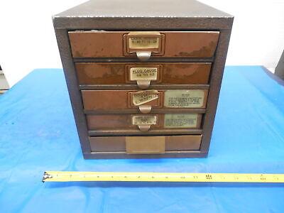 Kennedy 5 Drawer Metal Tool Storage Organization Cabinet 13 12 X 10 12 X 11
