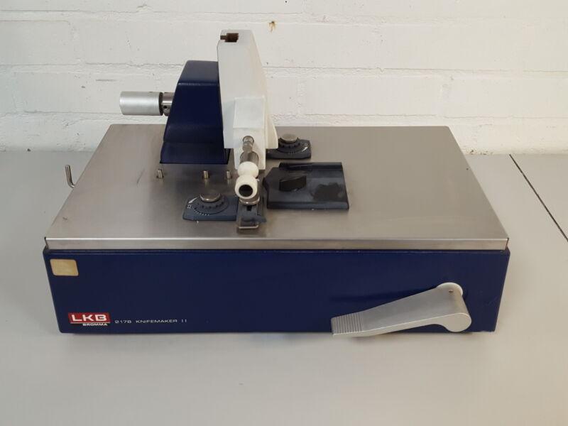 LKB Bromma 2178 Knifemaker II Knife Making Machine Lab
