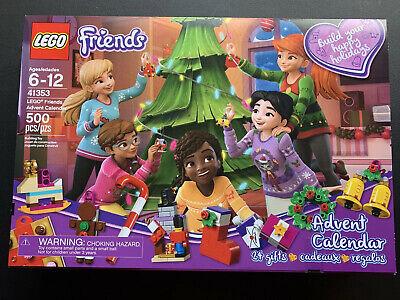LEGO Friends Advent Calendar 41353 Happy Holidays Christmas 2018 Tree - Open Box