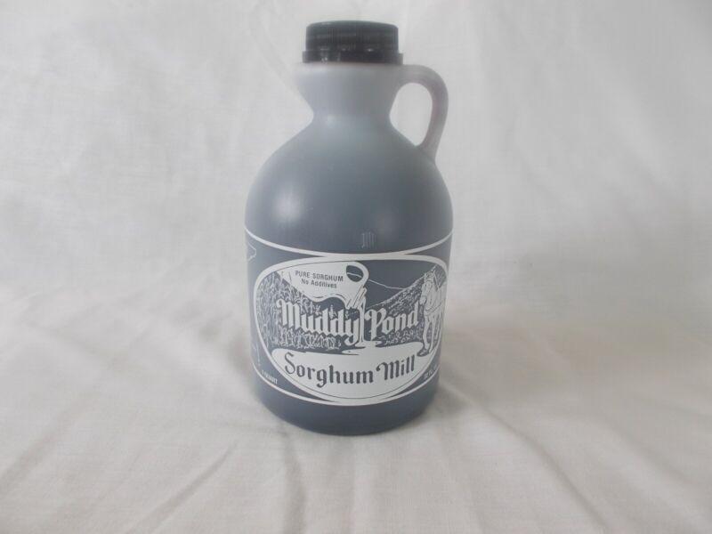 Muddy Pond Sorghum Syrup or Molasses - One Quart - 32 fl oz. or 48 oz net weight