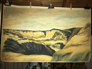 Sand dune pastel sketches (pair) Blairgowrie Mornington Peninsula Preview