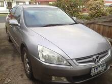 2005 Honda Accord Sedan Ormond Glen Eira Area Preview