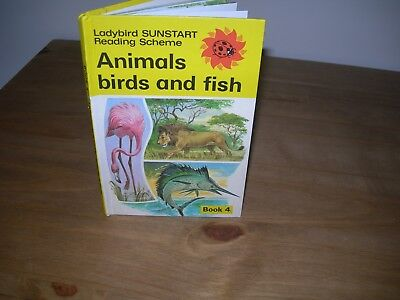 Vintage Ladybird Books - ANIMALS, BIRDS AND FISH - Very Good Condition -