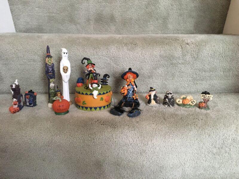 Halloween decorations lot Of 10