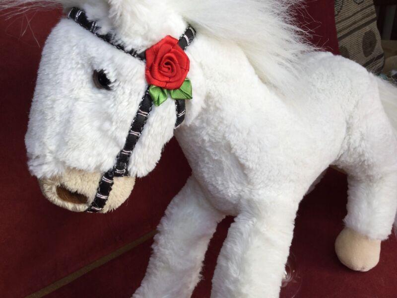 "Wells Fargo Horse Legendary Pony Mollie Rose Parade 13""  Plush Stuffed Animal"