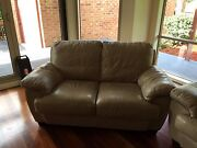 Leather Sofa 3 + 2 seater Warranwood Maroondah Area Preview
