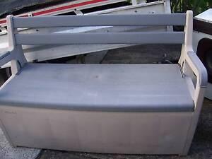 bench seat storage box solid pvc Cranebrook Penrith Area Preview