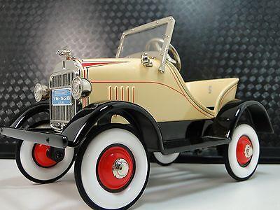 Pedal Car 1920s Ford A Hot T Rod Rare Vintage Classic Sport Midget Show Model