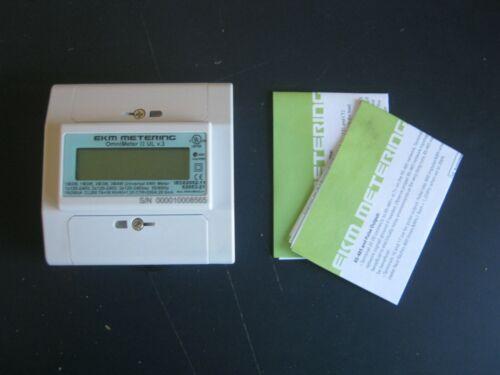 NEW EKM Metering Omnimeter II UL V.3 Universal Smart Meter 120V 240V