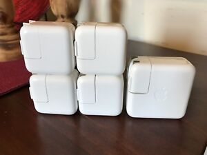 APPLE chargers for iPad, iPhone or iPod