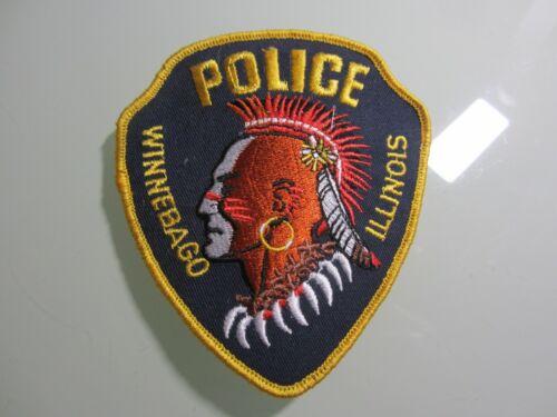 WINNEBAGO ILL. POLICE PATCH