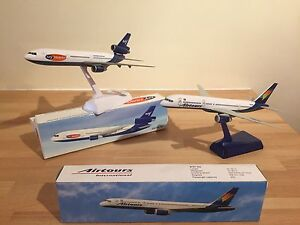2 MODEL AIRCRAFT (1 AIRTOURS 1 MY TRAVEL (THOMAS COOK) BOEING 757 DOUGLAS DC10