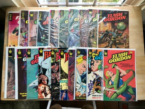 Flash Gordon Lot, No. 1; 19-37; Gold Key; 20 Comics; Fine- to Very Fine