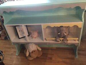 Kids height bookcase-