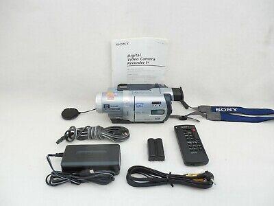 Sony DCR-TRV730 8mm Hi8 Digital8 Camcorder Bundle VG Condition 90-Day Warranty