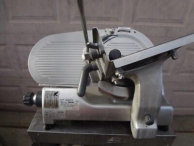 Refurbished Hobart 2812 12 Meat Cheese Deli Slicer.