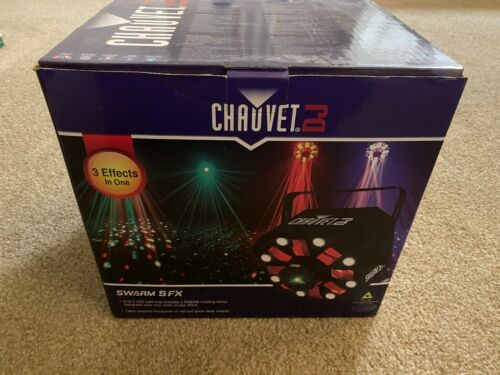 Pair of Chauvet DJ SWARM 5 FX Party Lights (lightly used)