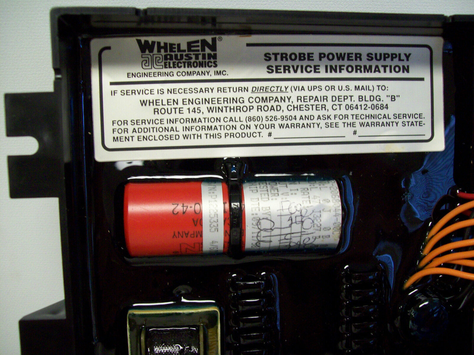Whelen Strobe Power Supply Repair 9m4s Wiring 5 Of 7 6 Output Mpdel Vpps6c Pt01 0262264