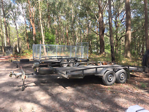 KING CAGE & CAR TRAILERS FOR HIRE $50-$75 PER 24 HOURS