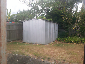Cheap galvanized garden shed in good condition Beenleigh Logan Area Preview