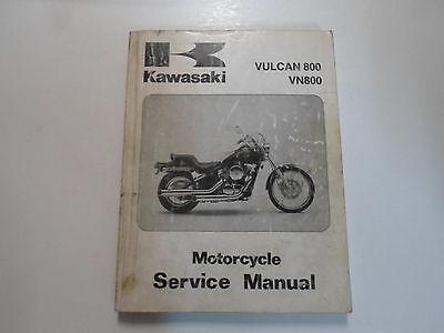 1995 96 1997 Kawasaki Vulcan 800 VN800 Motorcycle Service Repair Manual FADING
