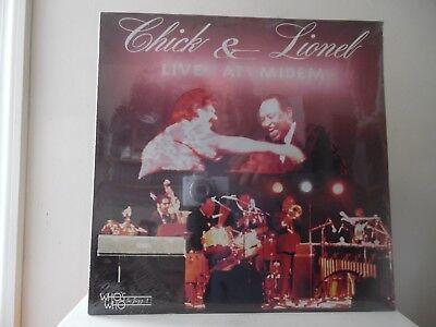 Chick Corea   Lionel Hampton   Live At Midem   Wwlp 21016    Sealed