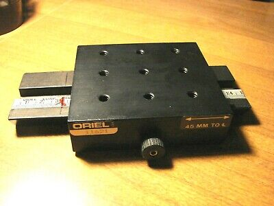 Oriel 11621 Dovetail Based Optical Rail Linear Translation Stage