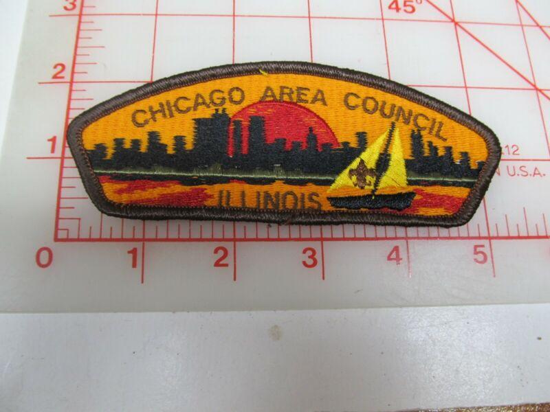 Chicago Area Council CSP collectible PB patch (o34)