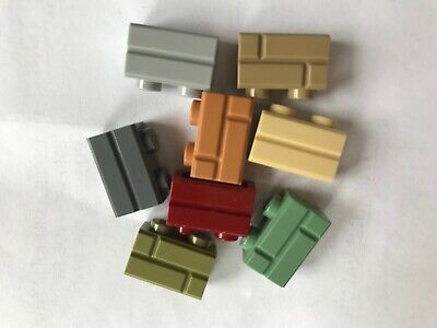 LEGO- NEW  #98283 -MASONRY BRICK COLLECTION-8 COLORS-25 BRICKS EACH -200 TOTAL