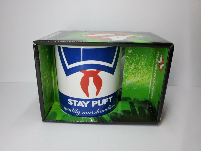 """Ghostbusters Collectible 20oz Mug """"Stay Puft"""" Marshmallow Man"""