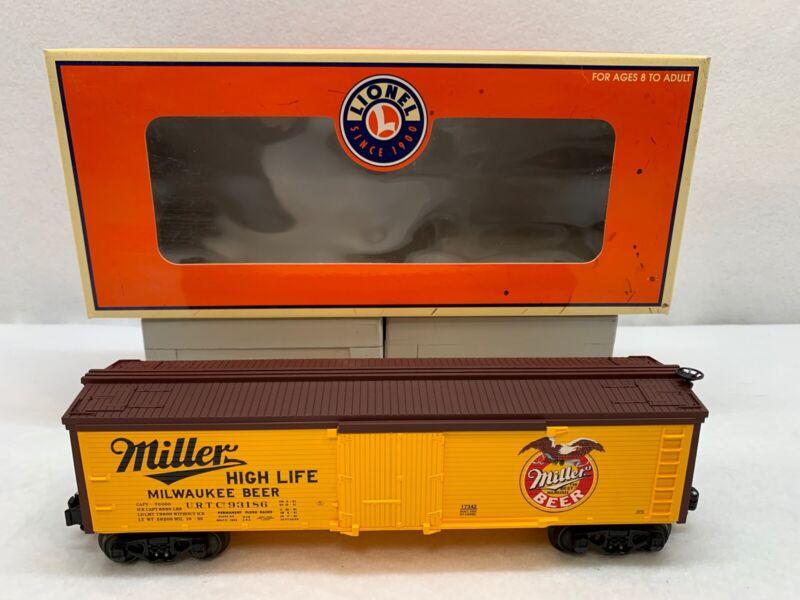 Lionel 2002 Miller Eagle Reefer 6-17342 NEW O Gauge #93186