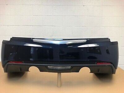 2013-2018 cadillac ats sedan 2.0 , 3.6 rear bumper with sensors & 2 modules #16