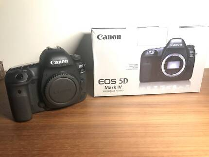 Brand new Canon 5D Mark IV Camera