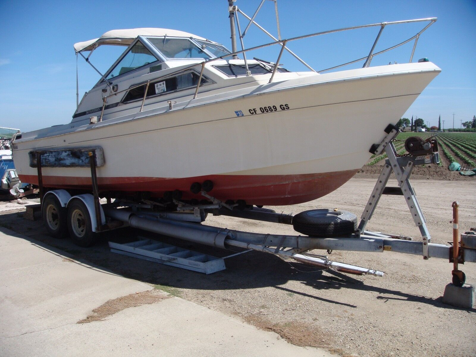 1980 WELLCRAFT 25 FT  SPORTFISHER AND 1979 WELLCRAFT DONOR BOAT 2 BOATS !!!