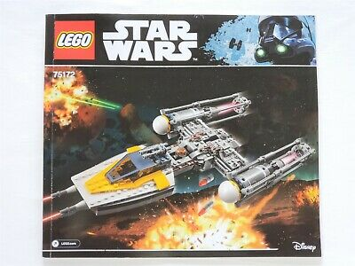 Lego Star Wars 75172 Y-Wing Starfighter Retired 100% Complete Set No Box