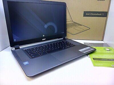 """Acer CB3-532-C47C 15.6"""" Chromebook Intel N3060 - 16GB SSD BlueTooth- HDMI in Box"""
