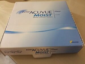 1 day acuvue moist disposable lens