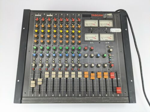 TASCAM M-208 8 CHANNEL ANALOG MIXER FREE SHIPPING