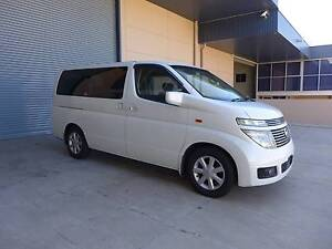 2005 Nissan Elgrand White New leather Interior Wetherill Park Fairfield Area Preview