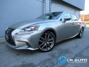 2015 Lexus IS 250 AWD! Loaded! Lease and Finance Available!