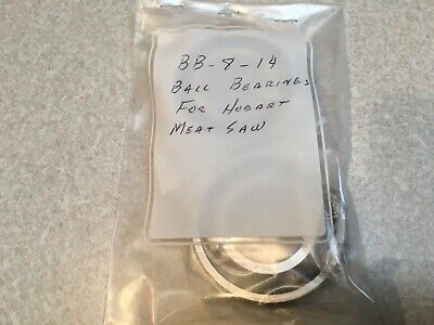 Lot Of 2 Hobart Ball Bearings For Model 5801 Meat Saw Pt Bb-008-14