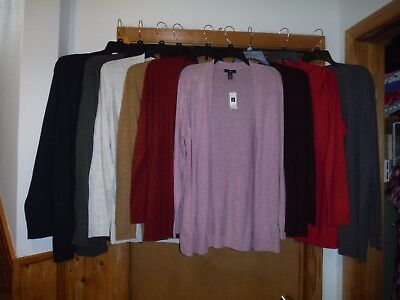 Long Sleeve Open Sweaters Cardigans  Gap Size 2Xl Xl L M Many Color Nwt
