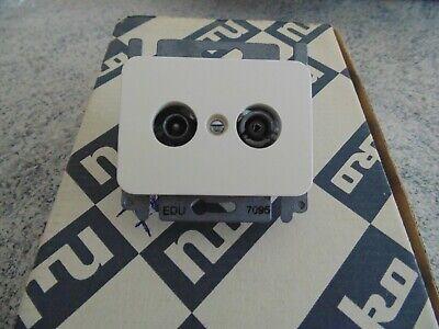 1 x prise tv-fm edu 7095 NIKO PR20 crème(neuve).
