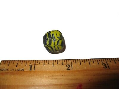 Ancient Roman empire super glass bead large specimen 2000 years old lovely #8