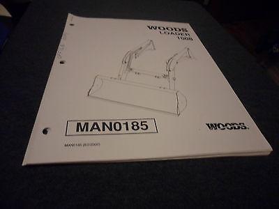 Drawer 5 Woods Operators Manual Loader 1008 Man0185