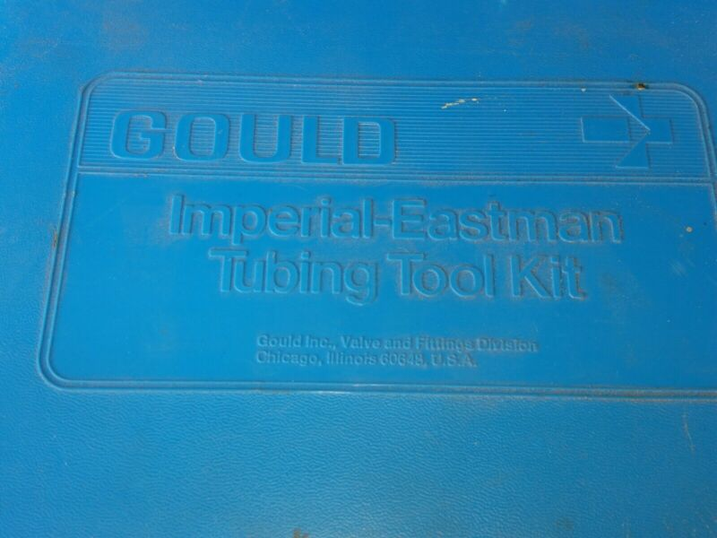 Imperial Eastman Flaring and SwagingTool Kit.     A5/05