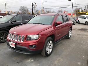 2014 Jeep Compass NORTH 4x4 - LEATHER, BLUETOOTH, CRUISE!