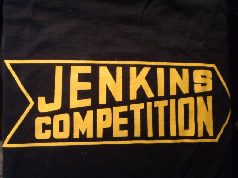 "BILL""GRUMPY""JENKINS COMPETITION  BLACK TEE SHIRT X LARGE"