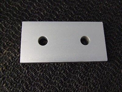 "80//20 Inc Aluminum 8 Hole Inside Corner Bracket 10 Series #4114 Pre-Owned /""Nice"