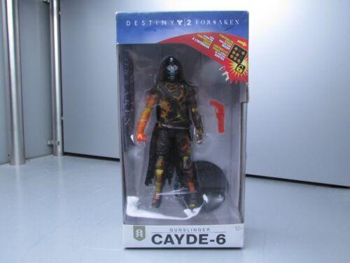 Destiny Cayde-6 Gunslinger Figure w Code Sealed Some Box Damage